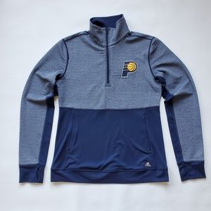 Adidas Indy Pacers Climalite Twist 1/4 Zip M